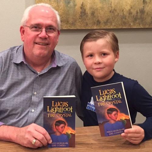 Interview with Luke Cowdell | Lucas Lightfoot Book Series | Greg Warburton