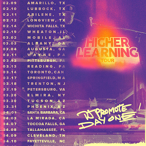 Higher Learning Tour - Day One