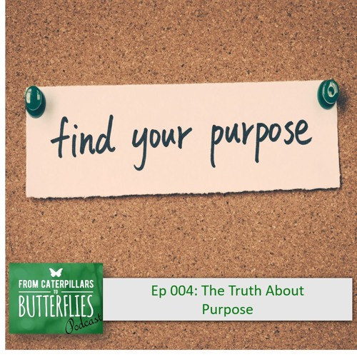 From Caterpillars To Butterflies Ep 4 - The Truth About Purpose