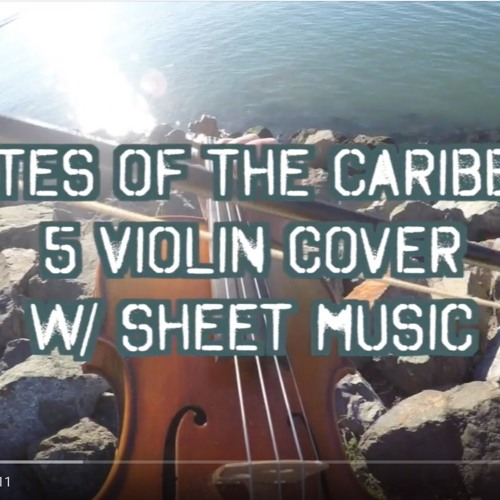 Pirates of the Caribbean - Arranged for 5 Violins (w/ sheet music)