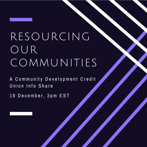 Resourcing Our Communities
