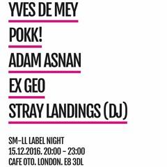 Yves De Mey Live @ Café Oto London Dec 15 2016