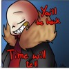 You'll Be Back Underfell Sans Cover