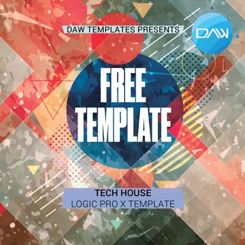 Free Tech House Logic Pro X Template By Logic Pro X