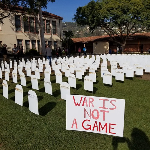 Santa Barbara HS Students Learn High Cost of War