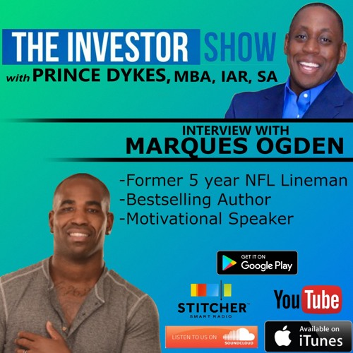 Ex-NFL Player/Bestselling author Marques Ogden Episode