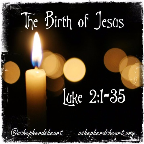 The Birth of Jesus - Luke 2:1-35