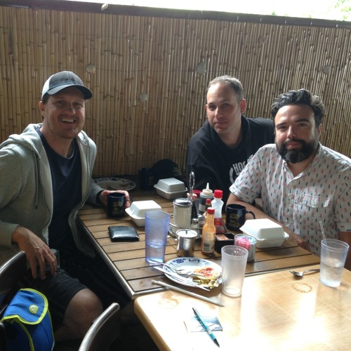Episode 23: Chris Garcia (Lonely Island) & Nato Green (SFSFS) at Rutt's Cafe