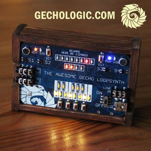 Gecho Loopsynth - Sample+Subtractive Synthesis Test #01 - Jingle Bells