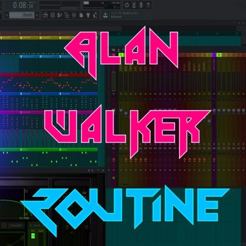 Alan Walker x David Whistle - Routine Fl Studio Remake + Free FLP by