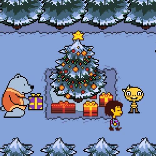 Undertale Christmas.Undertale X Christmas Fa La La La La By Empoleonnerd
