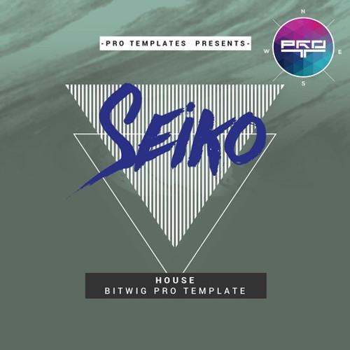 Seiko Bitwig Pro Template