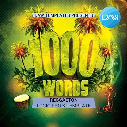 1000 Words Logic Pro X Template