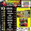 Empress Tashai Top Ten Chart Live via Oneloveradio 106.5fm Tues 12/27/2016