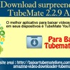 Download surpreendente TubeMate 2.2.9 apk