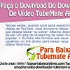 Faça O Download Do Download De Vídeo TubeMate APK