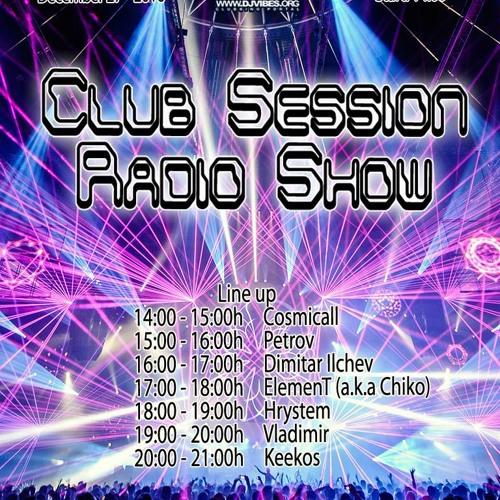 Кeekos - Club Session Radio Show (December 2016)
