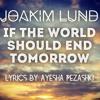 Joakim Lund - If The World Should End Tomorrow - Lyrics by Ayesha Pezashki