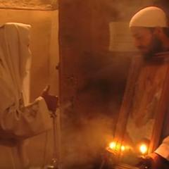 لحن طوليثو عربى و يونانى (قطعة رومى) .. اباء رهبان دير القديس انبا مقار ببرية شيهيت
