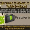 Como baixar arquivo de áudio mp3 no TubeMate YouTube Downloader?.mp3