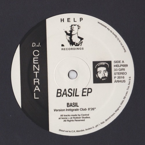 HELP009 · DJ Central · Basil EP - Previews