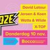 Dj-set Watts & Wilde Schaamteloze party @ Bocca Destelbergen 10-10-16