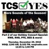 #TCSYes 2016-12-29 Holiday Concerts 2016, Week Two