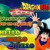 Adrián Barba - Hello Hello Hello -version Full- Dragon Ball Super ED Cover En Español