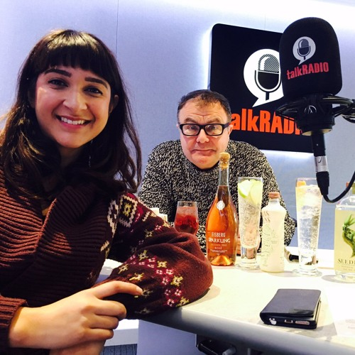 2nd Jan 2017 - Dry January - Annem Hobson from So Wrong It's Nom on TalkRADIO with Paul Ross