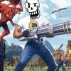 Bonetrousle but it's with Serious Sam music in the background