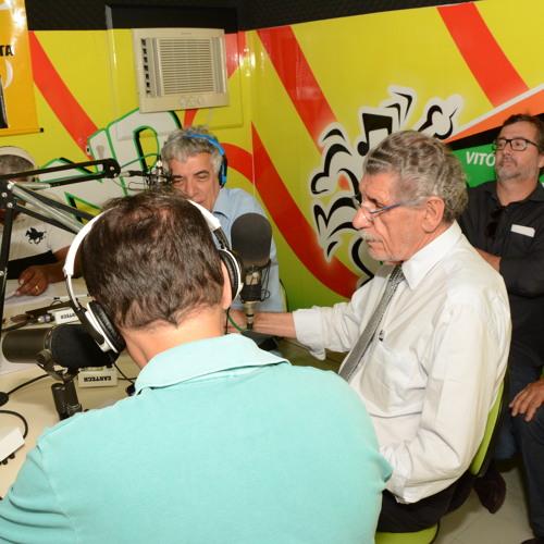 Entrevista do prefeito Herzem Gusmão (Band FM 02 - 01 - 2017)