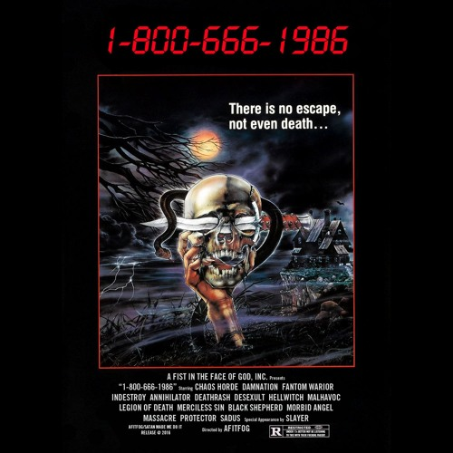 A Fist In The Face Of God presents... 1-800-666-1986