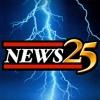 """You're watching live News 25 First Warning Doppler Radar"""