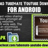 Download TubeMate YouTube Downloader for Android .mp3