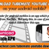 How to download TubeMate YouTube downloader on your android mobile?.mp3