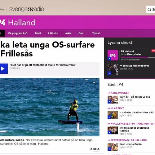 Sveriges Radio Halland - Kite Racing