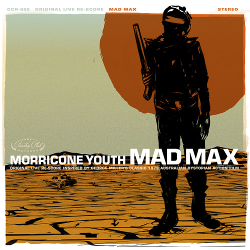 """MORRICONE YOUTH - """"Mad Max"""" LP"""