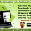 Download TubeMate For Windows PC And Mac