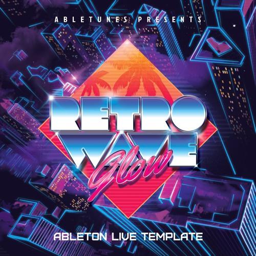 "Retrowave Ableton template ""Glow"""
