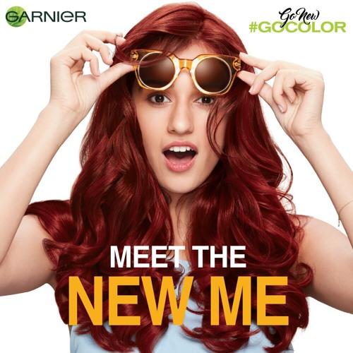 Garnier Go New Go Color Ad Campaign
