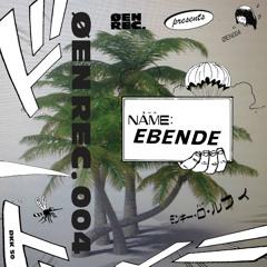 PREMIERE : ebende - Nära Nu [ØEN RECORDS]