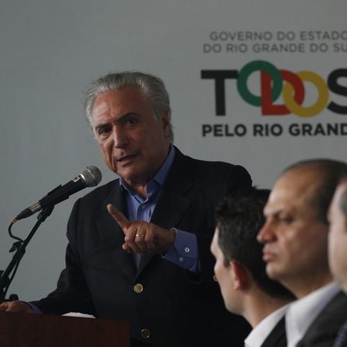 Discurso do presidente Michel Temer na entrega de ambulâncias do SAMU em Esteio/RS
