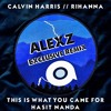 Download Calvin Harris Ft. Rihanna - This Is What You Came For (Alexz Exclusive Remix) Mp3