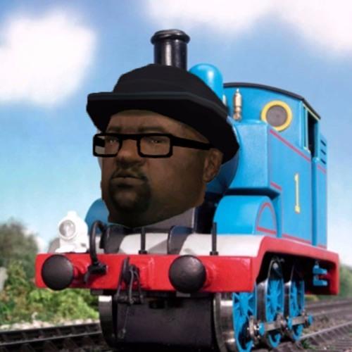 Big Smoke raps his order with Thomas the Tank Engine as the