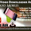 Best Five Video Downloader Application On Android Mobiles