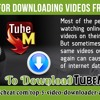 Top 5 Apps For Downloading Videos From YouTube