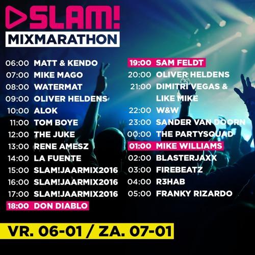 SLAM! Mixmarathon Jan-2017 Amsterdam