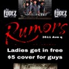 Rumors presents Stampede and Peligro Friday 13th