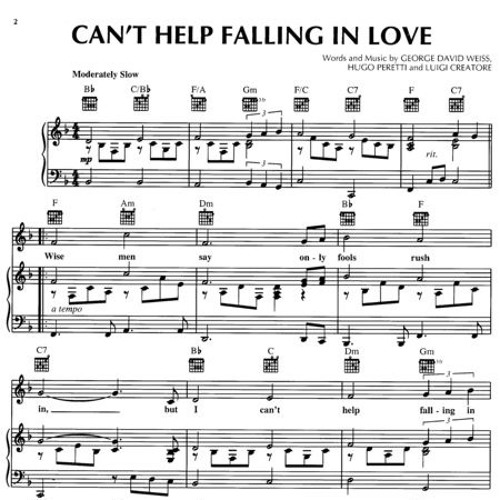 Can T Help Falling In Love Can 39 T Help Falling In Love Can 39 T