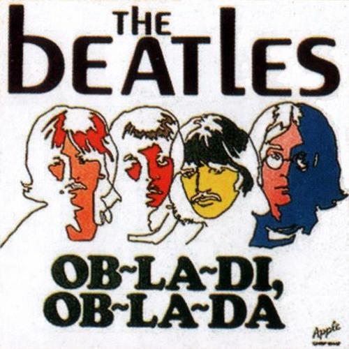 E. Magalif on Piano. The Beatles. OB-LA-DI, OB-LA-DA.